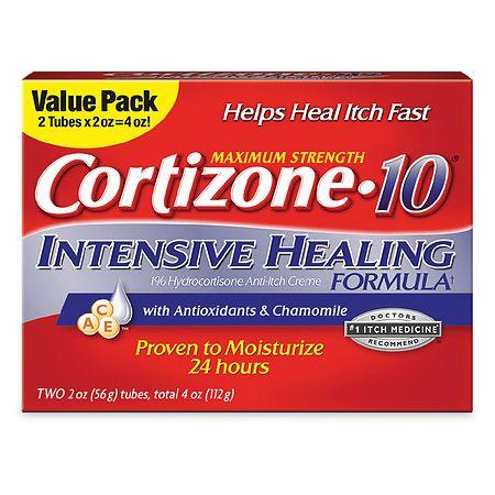 Cortizone 10 Intensive Healing Cream - 2 oz. x 2 pack
