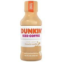 Dunkin Donuts Iced Coffee French Vanilla | Walgreens