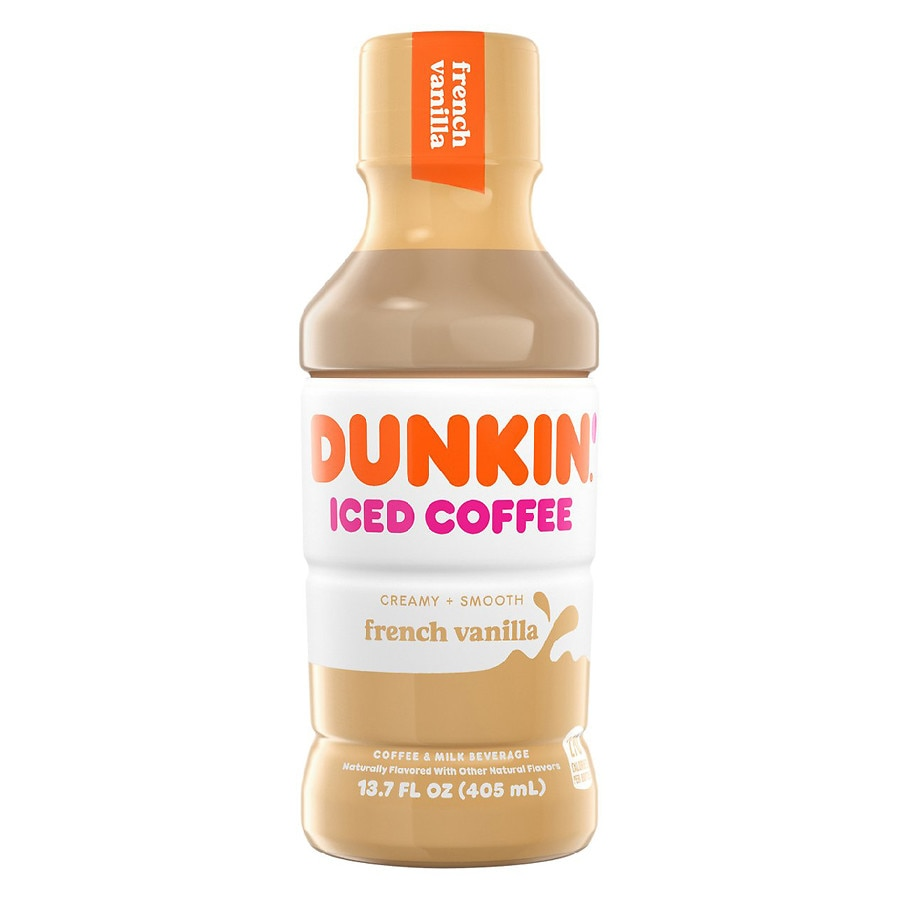 Dunkin Donuts Iced Coffee French Vanilla | Walgreens