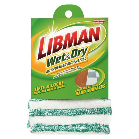 Libman Wet & Dry Microfiber Mop Refill - 1 ea