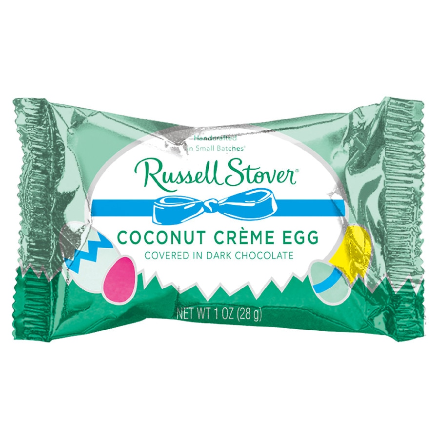 Chocolate Coconut Creams Dunmore Candy Kitchen: Russell Stover Coconut Cream Egg Dark Chocolate