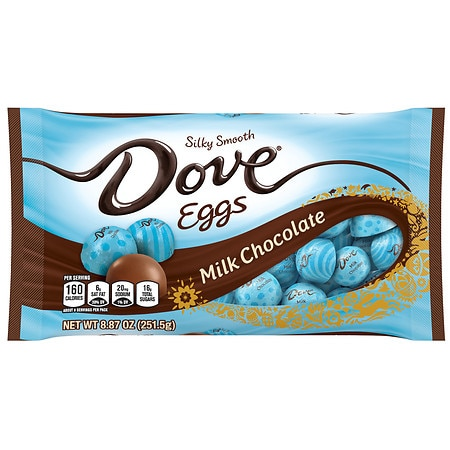 Dove Promises, Easter Candy Eggs Milk Chocolate - 8.87 oz.