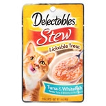 Hartz Delectables Stew Cat Treats Tuna And Whitefish