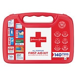 Johnson & Johnson First Aid Kit 140 Piece