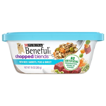 Beneful Prepared Meals Dog Food With Beef, Carrots, Peas & Barley - 10 oz.