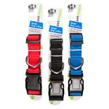 Petshoppe Nylon Collar 18-26 in Assorted