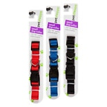 Petshoppe Nylon Collar 10-16 in Assorted