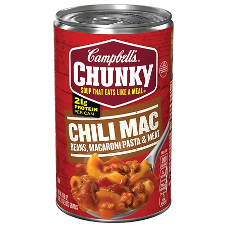 Campbell's Chunky Chili Mac Soup - 18.8 oz.