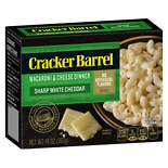 Cracker Barrel Macaroni & Cheese Sharp White Cheddar