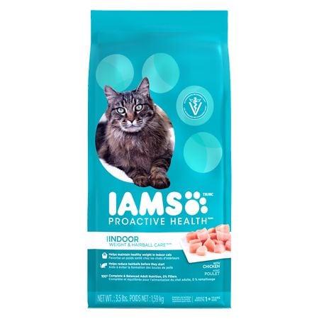 Iams ProActive Health Cat Food Indoor Weight Control & Herbal Care - 56 oz.