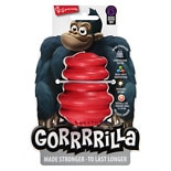 Multipet Gorrrrilla Tough Dog Toy 3.5 Inch Assorted