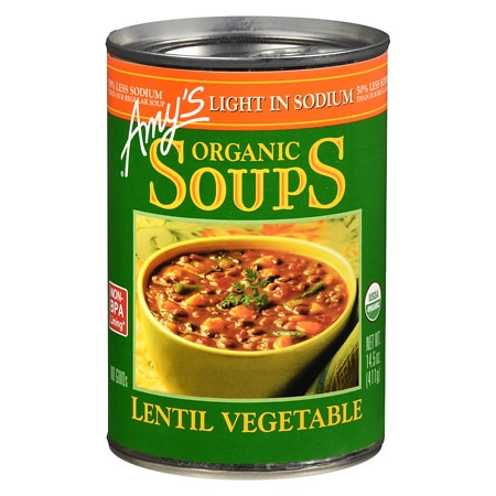 Amy's Light In Sodium Soup Vegetable - 14.5 oz.