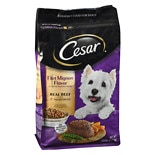 Cesar Dry Dog Food Filet Mignon