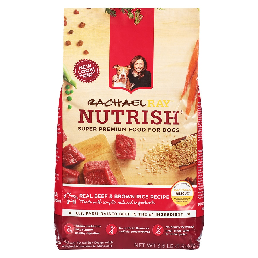 Nutrish Dog Food Beef And Brown Rice