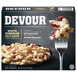 Devour White Cheddar Mac & Cheese With Bacon White Cheddar Macaroni & Cheese With Bacon