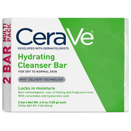 Hydrating Cleansing Bar for Normal to Dry Skin - 4.5 oz.