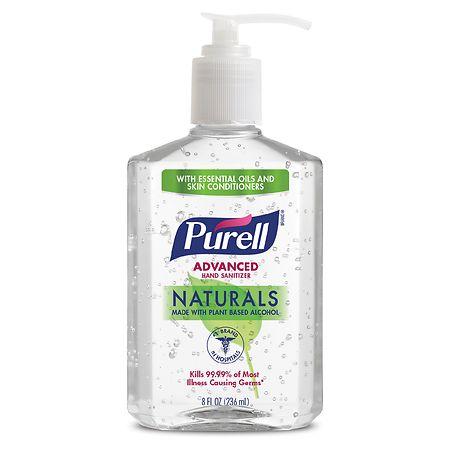 Purell Advanced Naturals Hand Sanitizer - 8 oz.
