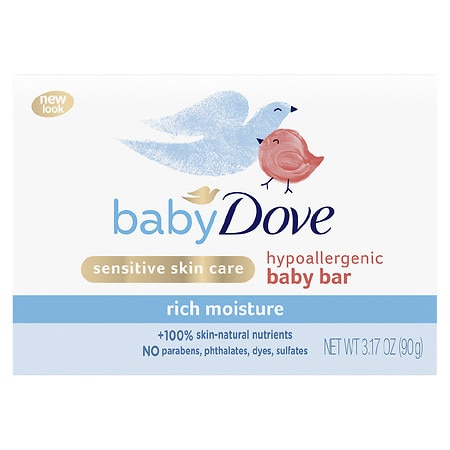 Baby Dove Bar Rich Moisture - 3.17 oz.