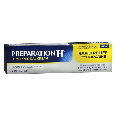 Image of Preparation H Rapid Relief with Lidocaine - 1 oz.