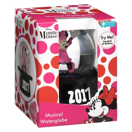 Disney Graduation Disney Minnie Waterglobe - 1 ea