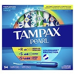 Tampax Pearl Tampons Duo Unscented