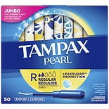 Tampax Pearl Tampons Regular Absorbency Unscented