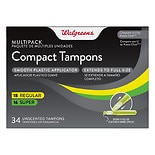Walgreens Compact Tampons Multipack