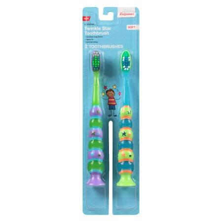 Walgreens Kids Suction Toothbrush - 2 ea