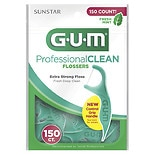 G-U-M Professional Clean Flossers Fresh Mint