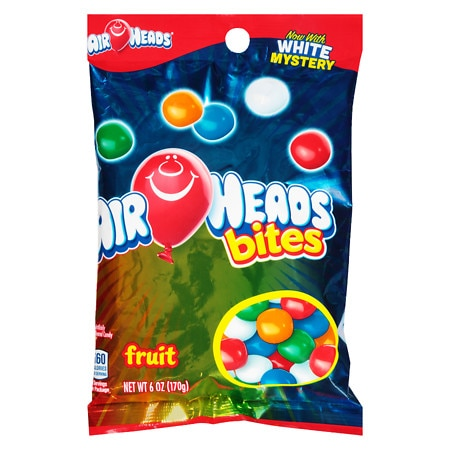 Airheads Bites Candy Fruit - 6 oz.