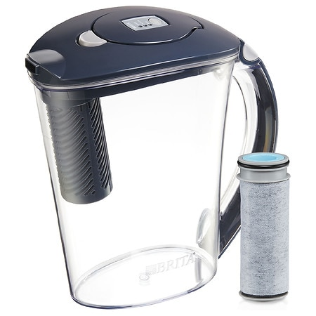 Brita Stream Rapids Filter as You Pour Water Pitcher - 1 ea