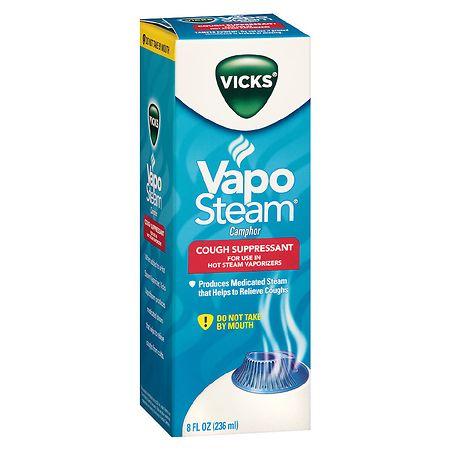 Vicks VapoSteam Cough Suppressant For Hot Steam Vaporizers - 8 oz.
