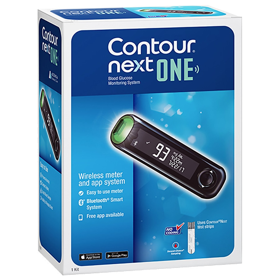 Contour Next One Blood Glucose Meter Walgreens