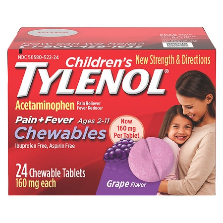 chewable tylenol adults