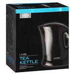 Living Solutions Electric Tea Kettle Black