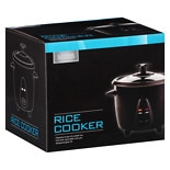 Living Solutions Rice Cooker Black