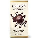 Godiva Masterpieces Chocolate Bar Dark Chocolate Ganache Heart