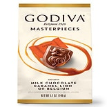 Godiva Masterpieces Chocolate Bar Milk Chocolate Caramel Lion