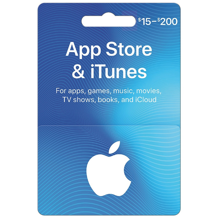 apple itunes gift card variable walgreens. Black Bedroom Furniture Sets. Home Design Ideas