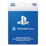Sony PlayStation 4 Gift Card $25