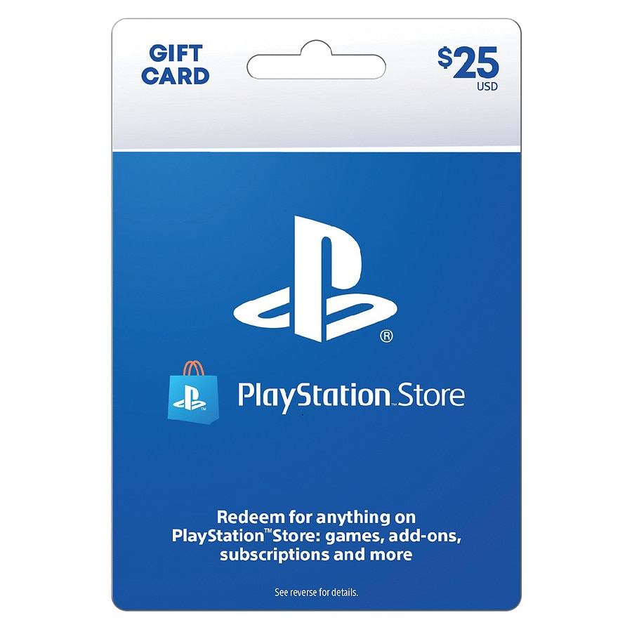 Sony PlayStation 4 Gift Card $25 | Walgreens