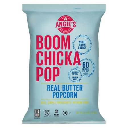 Angie's Boomchickapop Real Butter Popcorn - 4.4 oz.