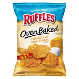 Ruffles Baked Potato Chips Cheddar & Sour Cream