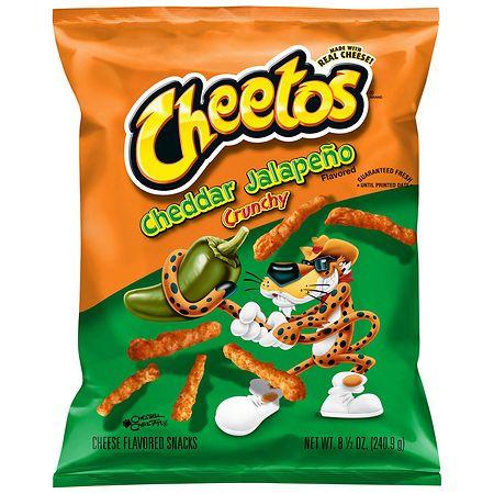Cheetos Snacks Jalapeno Cheddar - 8.5 oz.