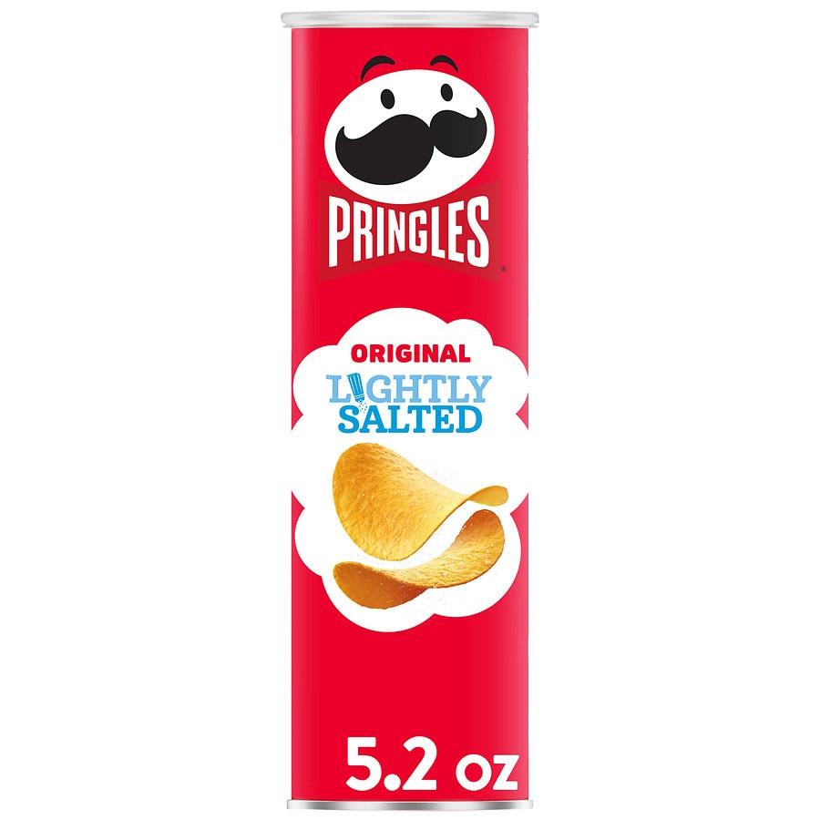 Pringles Chips Lightly Salted Original