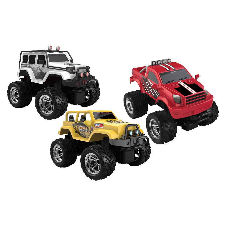 Sharper Image Toy Rc Off Trucks Jeeps Thunder Predator Yellow