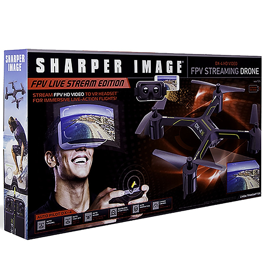 Sharper Image Fpv Streaming Drone With Vr Headset Arduniuo For