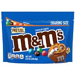 M&M's Pretzel Candies