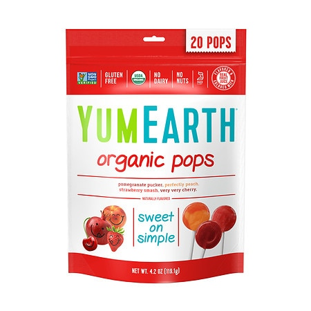 YumEarth Organic Lollipops Assorted - 4.2 oz.