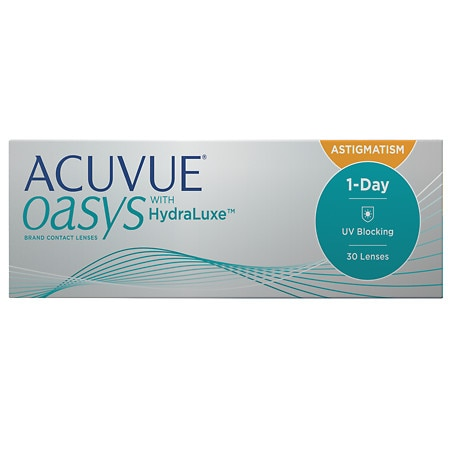 Acuvue Oasys 1-Day For Astigmatism 30 pack - 1 Box